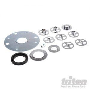 Triton 12-delige freesmal geleider set