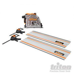 Triton 4-delige 1400 W invalcirkelzaagkit
