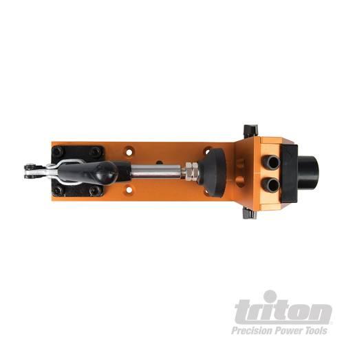 Triton 8-delige pockethole boormal met klem