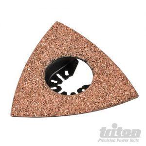 Triton Driehoekige hardmetalen rasp