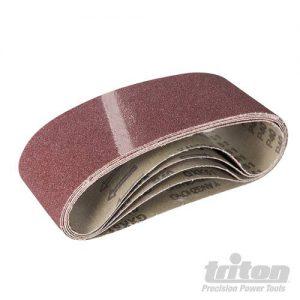 Triton Aluminiumoxide schuurbanden, 5 pk.