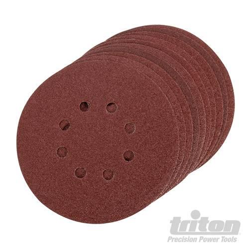 Triton Klittenband schuurschijven, 10 pk.