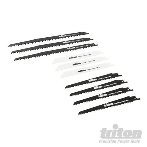 Triton 10-delige recipro zaagblad set