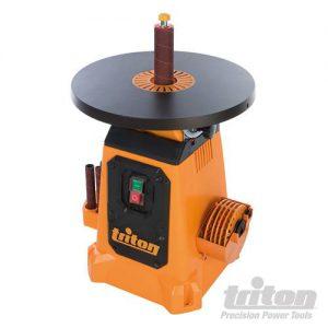 Triton 350 W oscillerende tafelschuurmachine, kantelbaar 380 mm