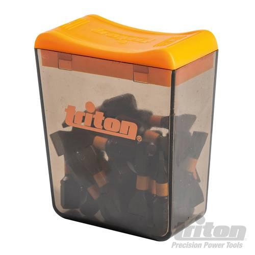 Triton Sleuf impact schroefbit, 25 pk.