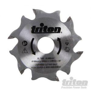 Triton Lamellenfrees zaagblad, 100 mm