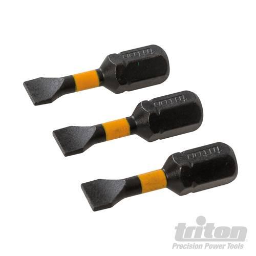 Triton Sleuf impact schroefbit, 3 pk.