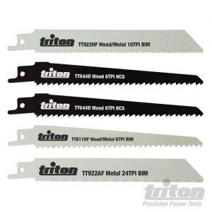 Triton 5-delige reciprozaagblad set